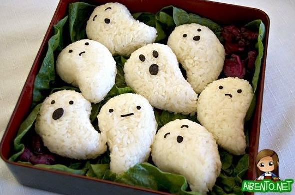Spooky Halloween Bento 3