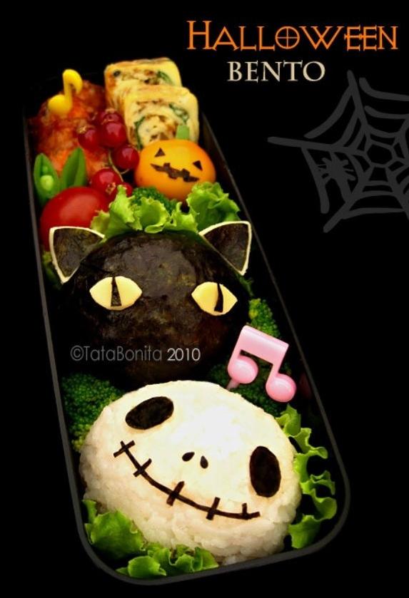 Spooky Halloween Bento 4