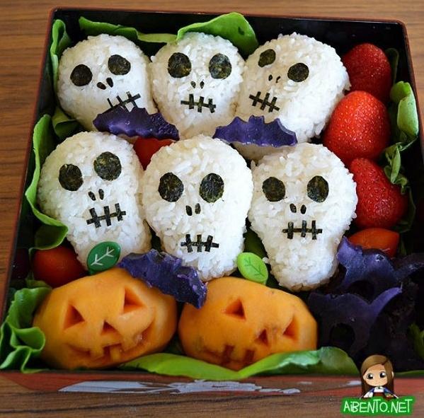 Spooky Halloween Bento 5