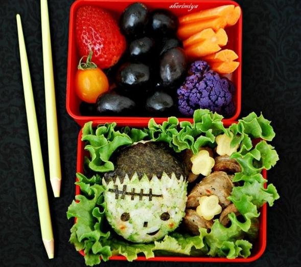 Spooky Halloween Bento 8
