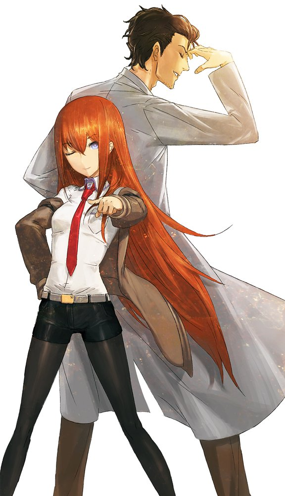 Steins;Gate game series has now sold more than 1 million copies illustration