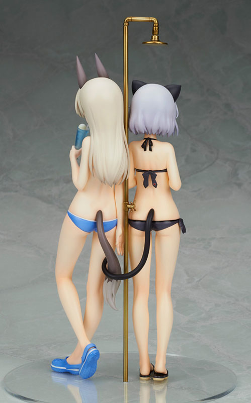 Strike Witches 2 Sanya and Eila Swimsuit anime figure 004