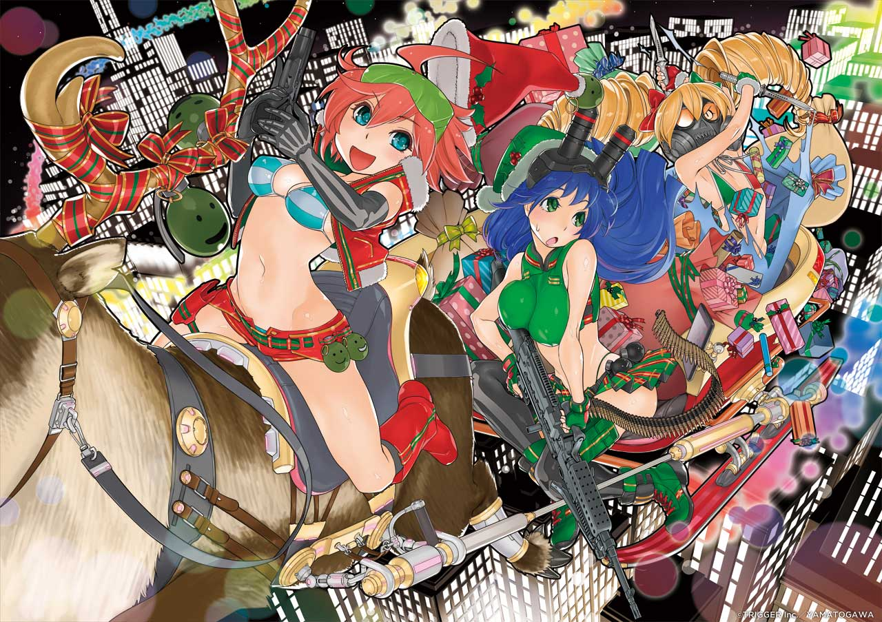 Studio Trigger Updates Their Website with Stunning Holiday Art
