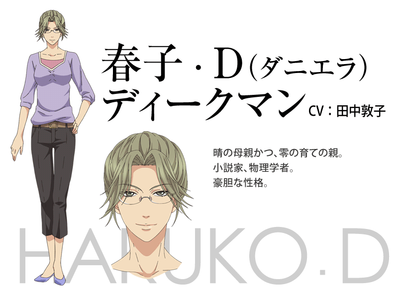 Super Lovers Anime Character Design 1
