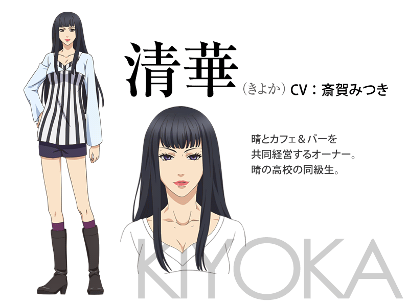 Super Lovers Anime Character Design 4