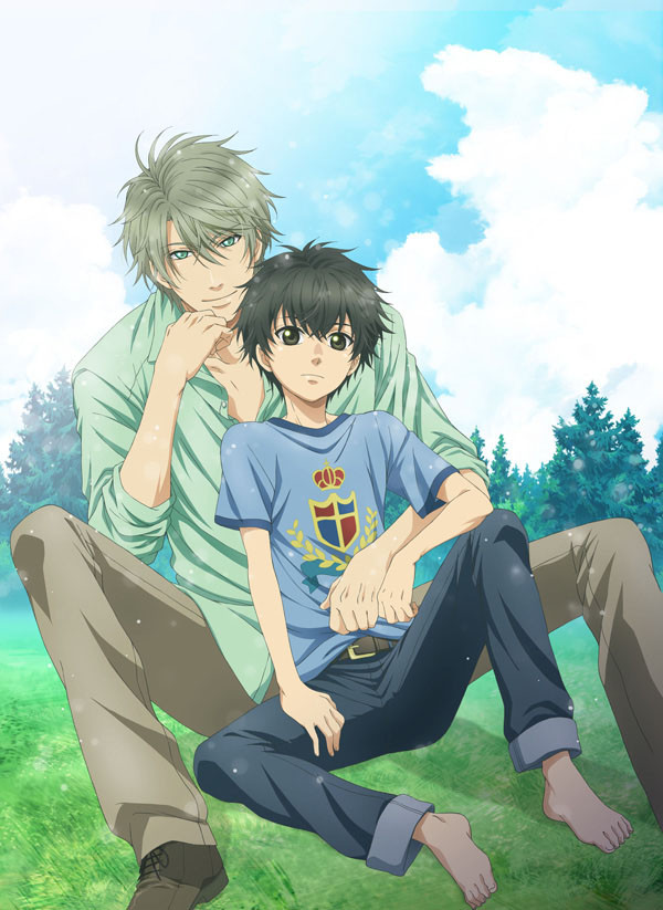 Super Lovers Anime Visual