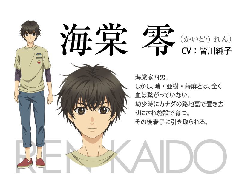 Super Lovers anime character design 5