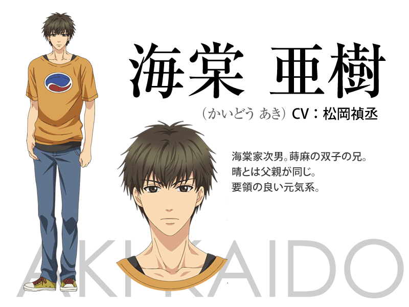 Super Lovers anime character design 7