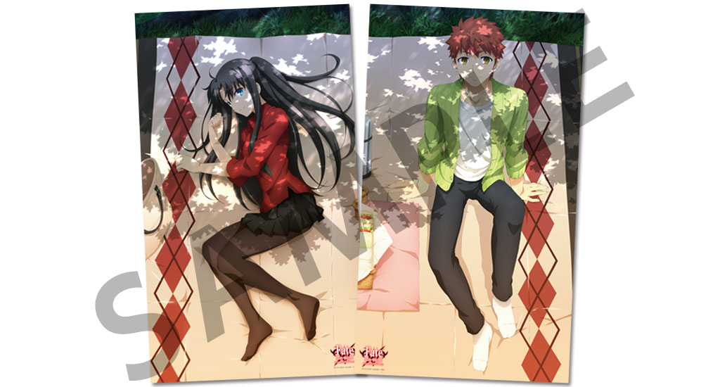 Super-Sized Shiro and Rin Fabric Posters Offered at Comiket 89