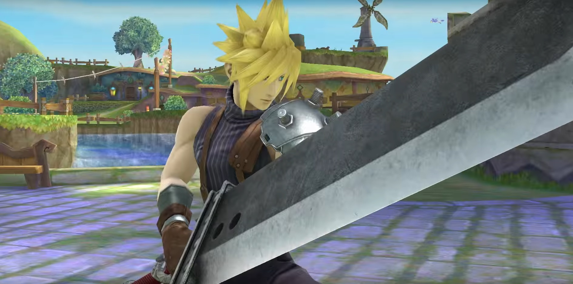 Super Smash Bros Cloud 4