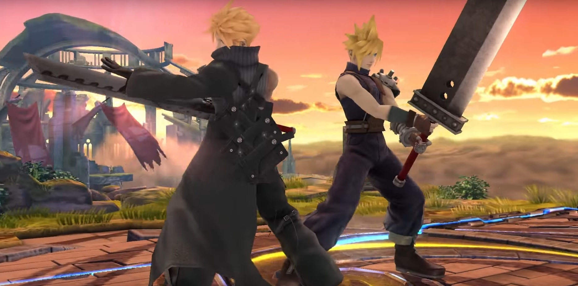 Super Smash Bros Cloud Strife 2