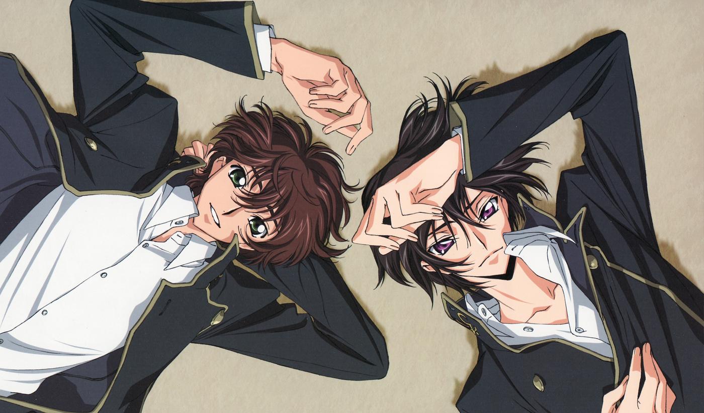 Suzaku and Lelouch_Haruhichan.com_