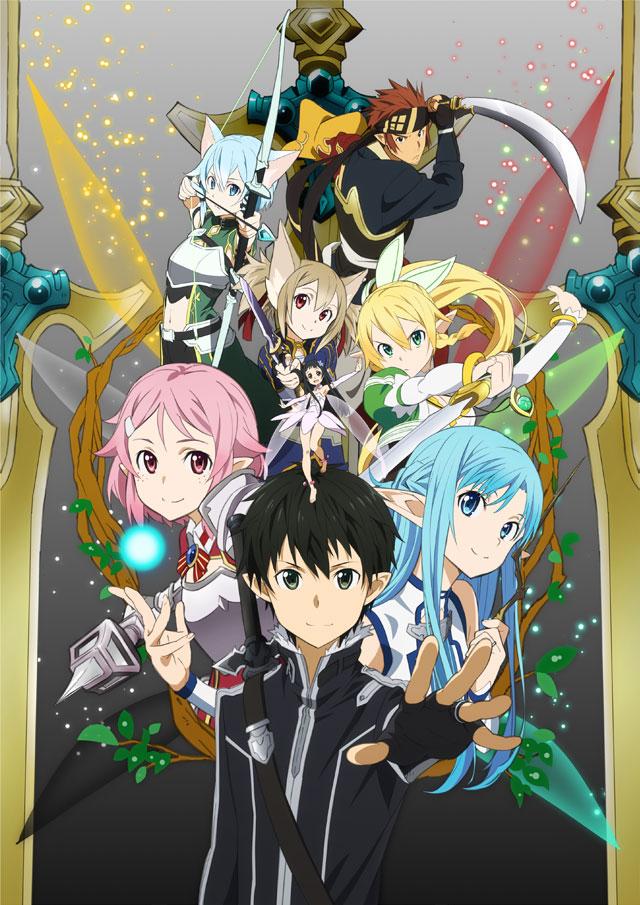 Sword Art Online 2 Calibur haruhichan.com Sword Art Online II calibur arc anime