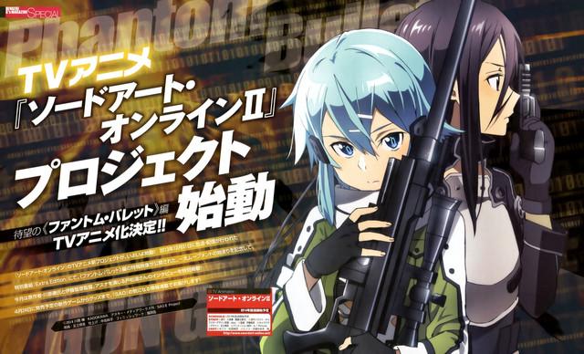 Sword Art Online II 2 Gun Gale Online Kirito Sinnon
