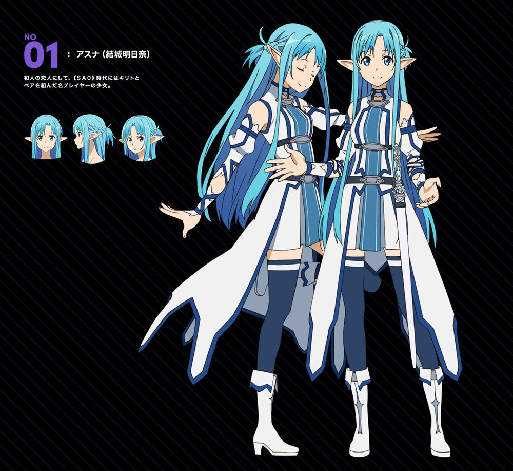 Sword Art Online II Anime Mother's Rosary Arcs Character Designs Released