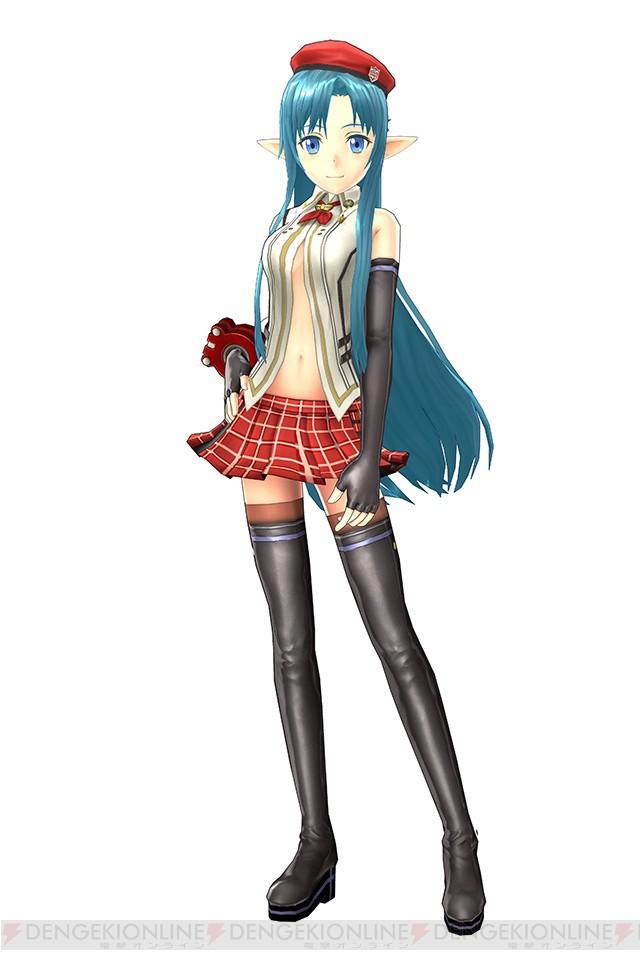 Sword Art Online Lost Song x God Eater 2 Rage Burst Promo Alisa
