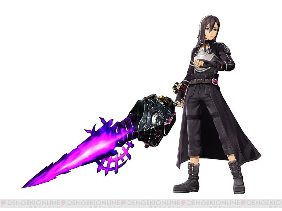 Sword Art Online Lost Song x God Eater 2 Rage Burst Promo kirito