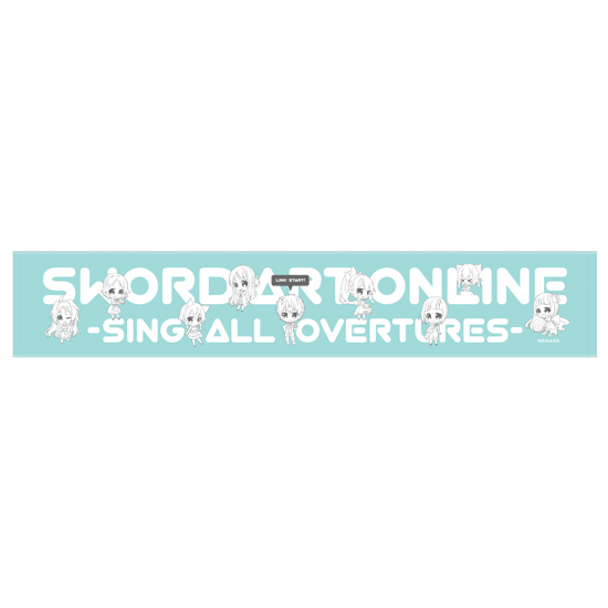 Sword Art Online Sing All Overtures Concert Merchandise and Visual Previewed haruhichan.com Sword Art Online Concert merchandise SAO towel