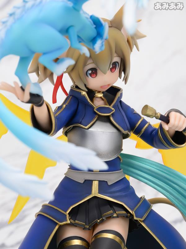 Sword Art Online's Silica Gets a New Figure Featuring Pina 10