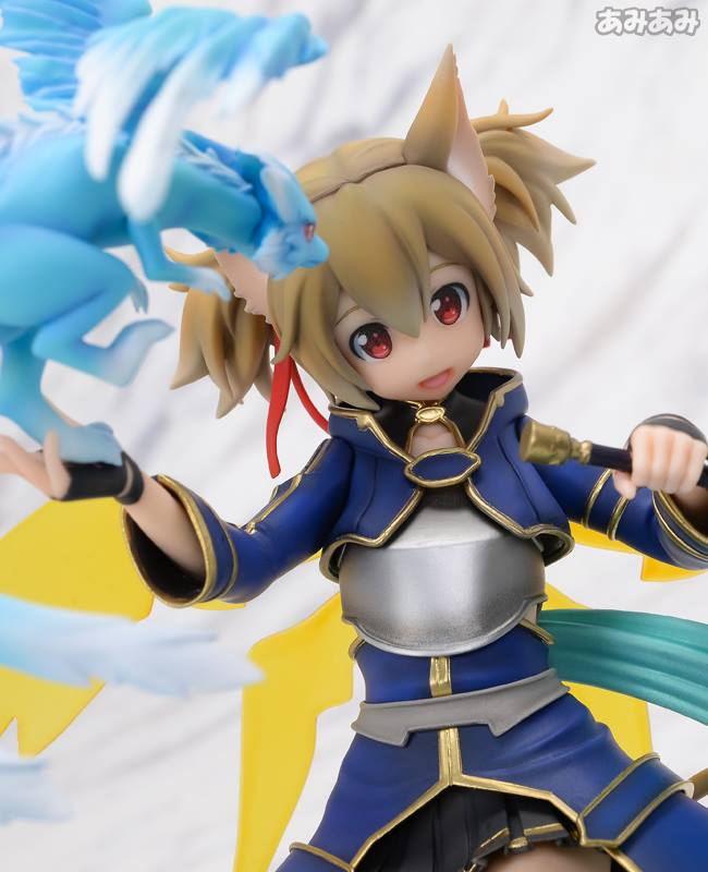 Sword Art Online's Silica Gets a New Figure Featuring Pina 11