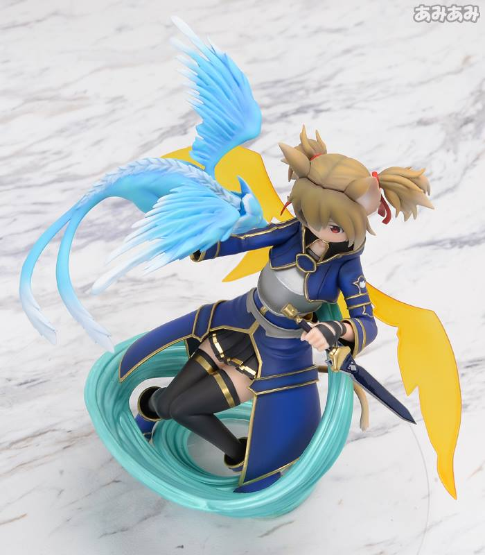 Sword Art Online's Silica Gets a New Figure Featuring Pina 12