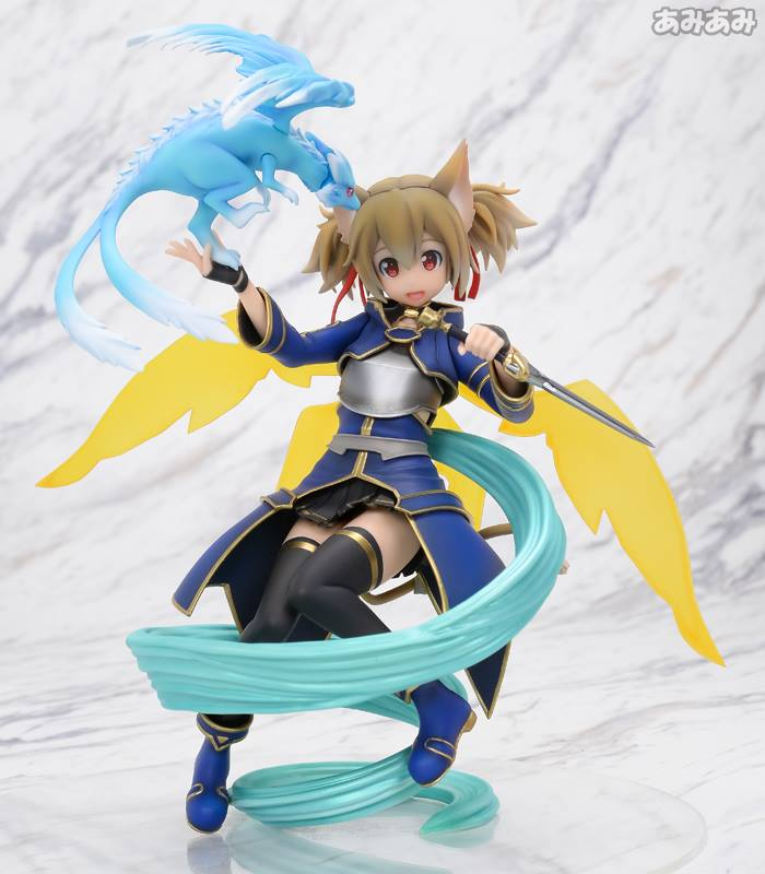 Sword Art Online's Silica Gets a New Figure Featuring Pina  2