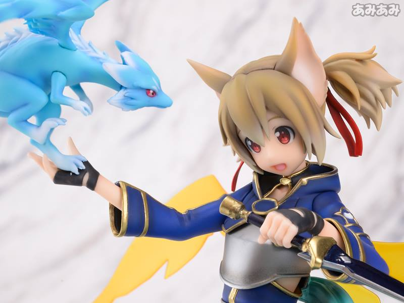 Sword Art Online's Silica Gets a New Figure Featuring Pina 21