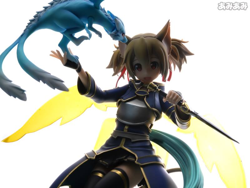 Sword Art Online's Silica Gets a New Figure Featuring Pina 22
