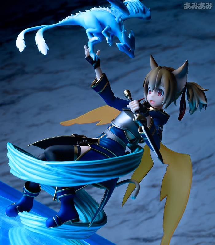 Sword Art Online's Silica Gets a New Figure Featuring Pina 23