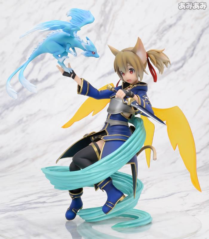 Sword Art Online's Silica Gets a New Figure Featuring Pina  3