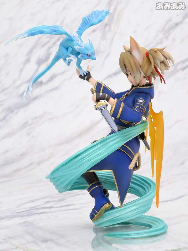 Sword Art Online's Silica Gets a New Figure Featuring Pina 4
