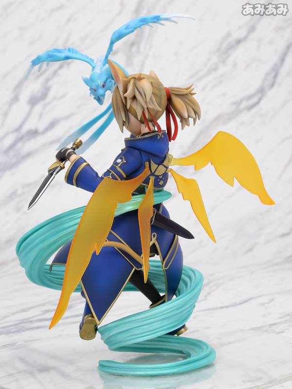 Sword Art Online's Silica Gets a New Figure Featuring Pina 5