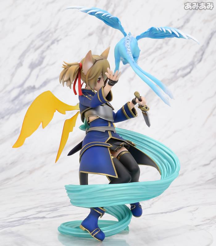 Sword Art Online's Silica Gets a New Figure Featuring Pina 7