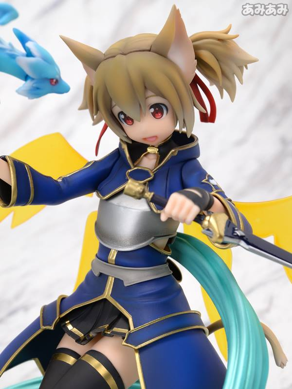 Sword Art Online's Silica Gets a New Figure Featuring Pina 9
