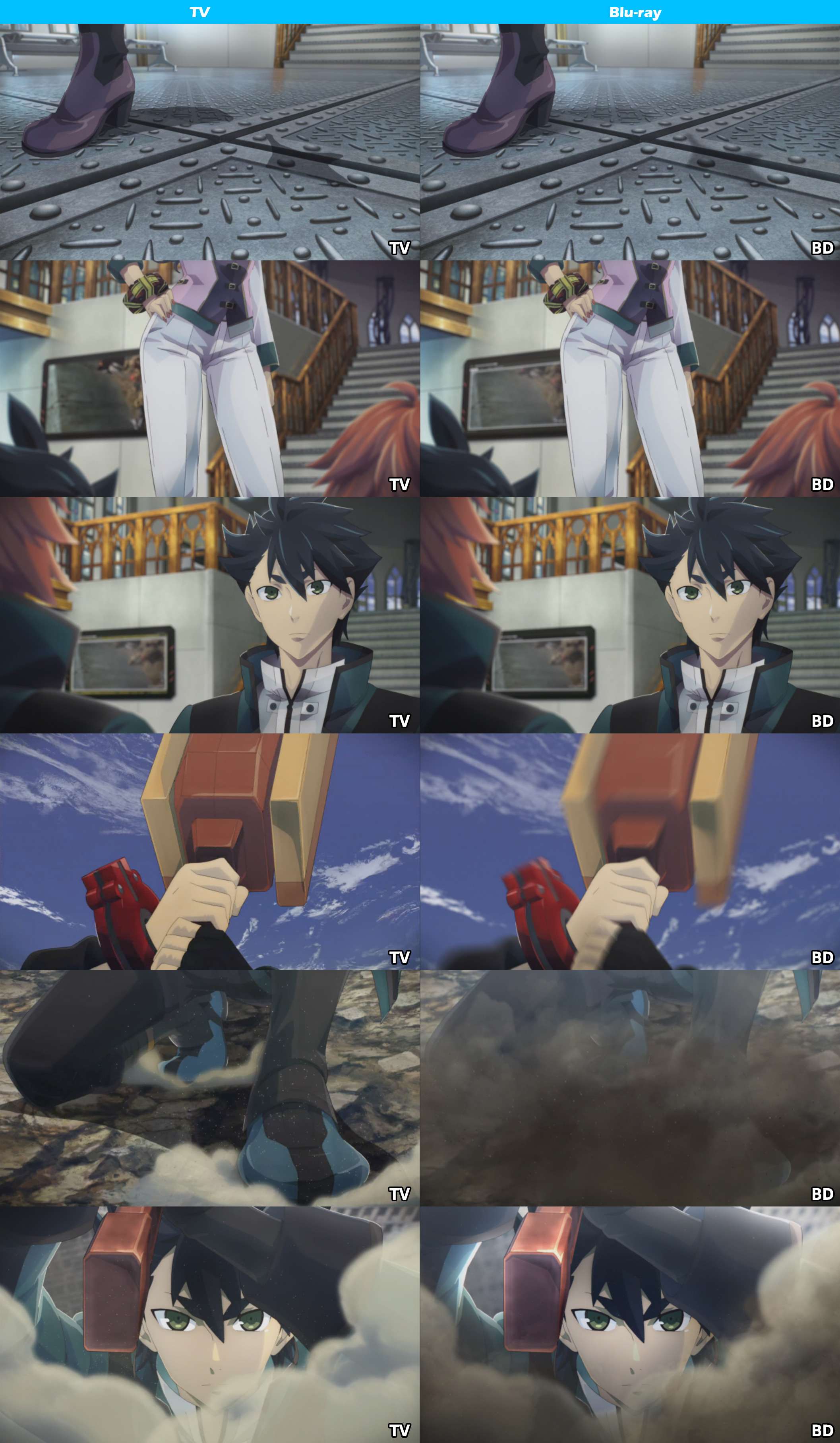 TV vs Blu-ray -God Eater-1