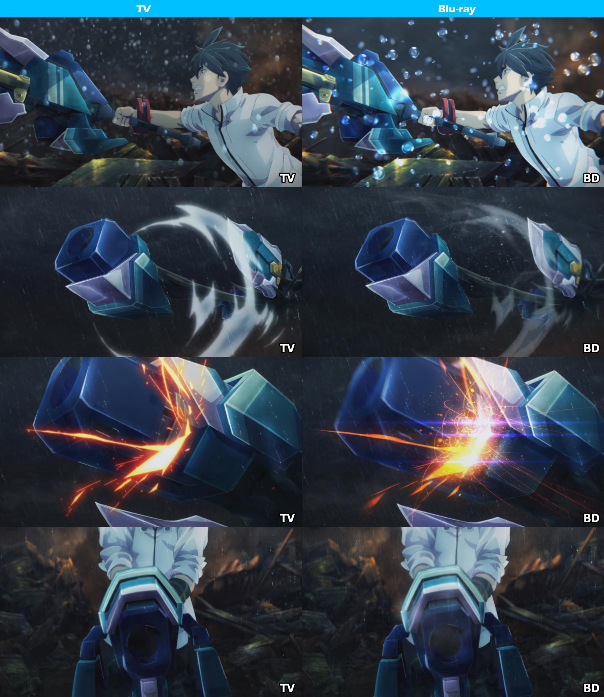 TV vs Blu-ray -God Eater-10