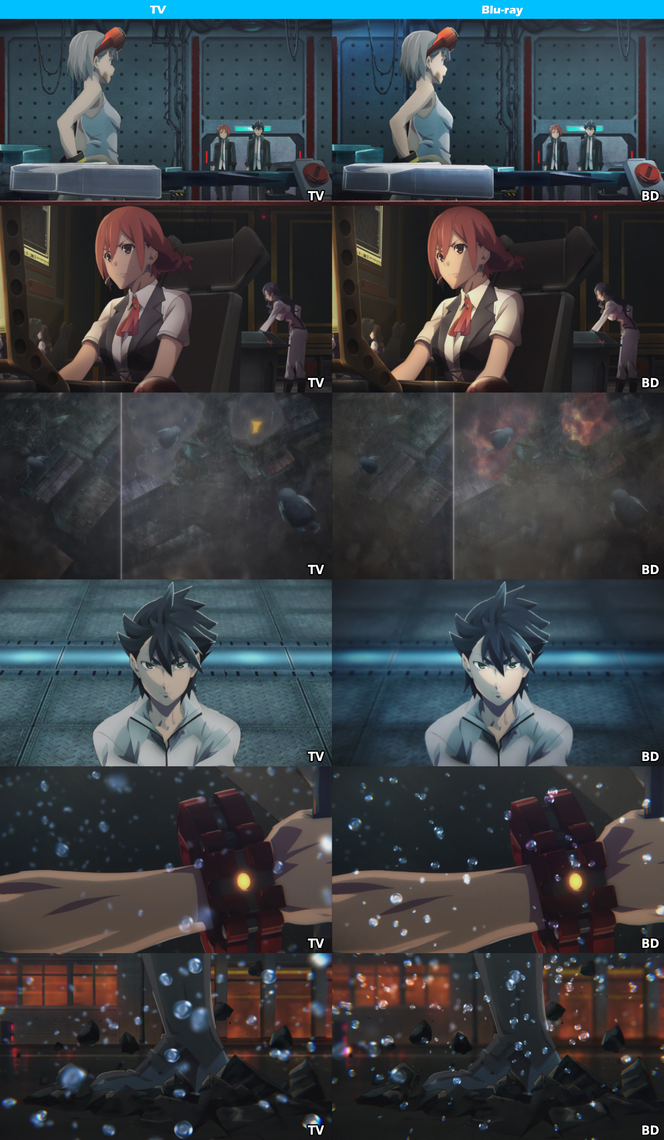 TV vs Blu-ray -God Eater-3
