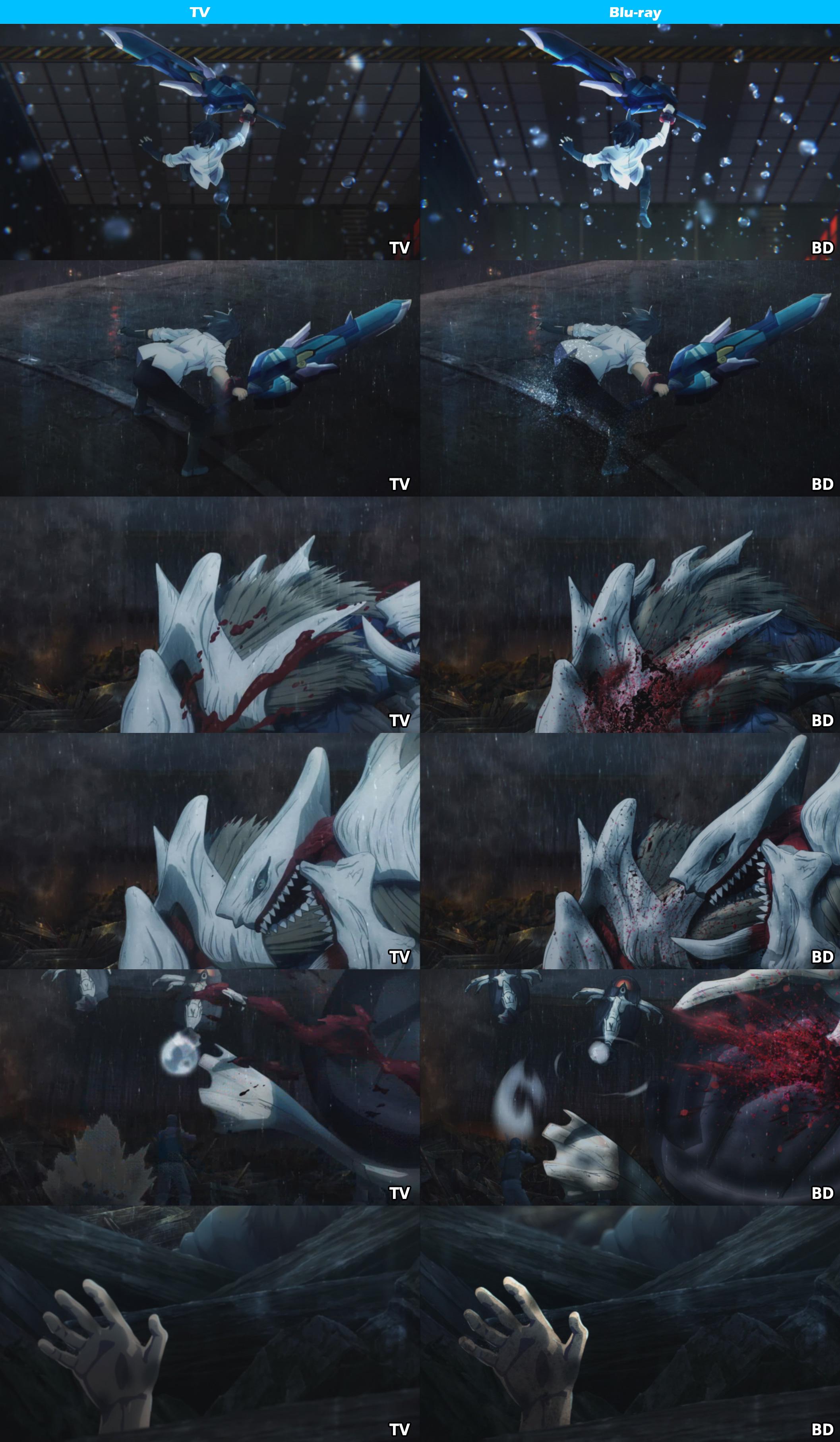 TV vs Blu-ray -God Eater-4
