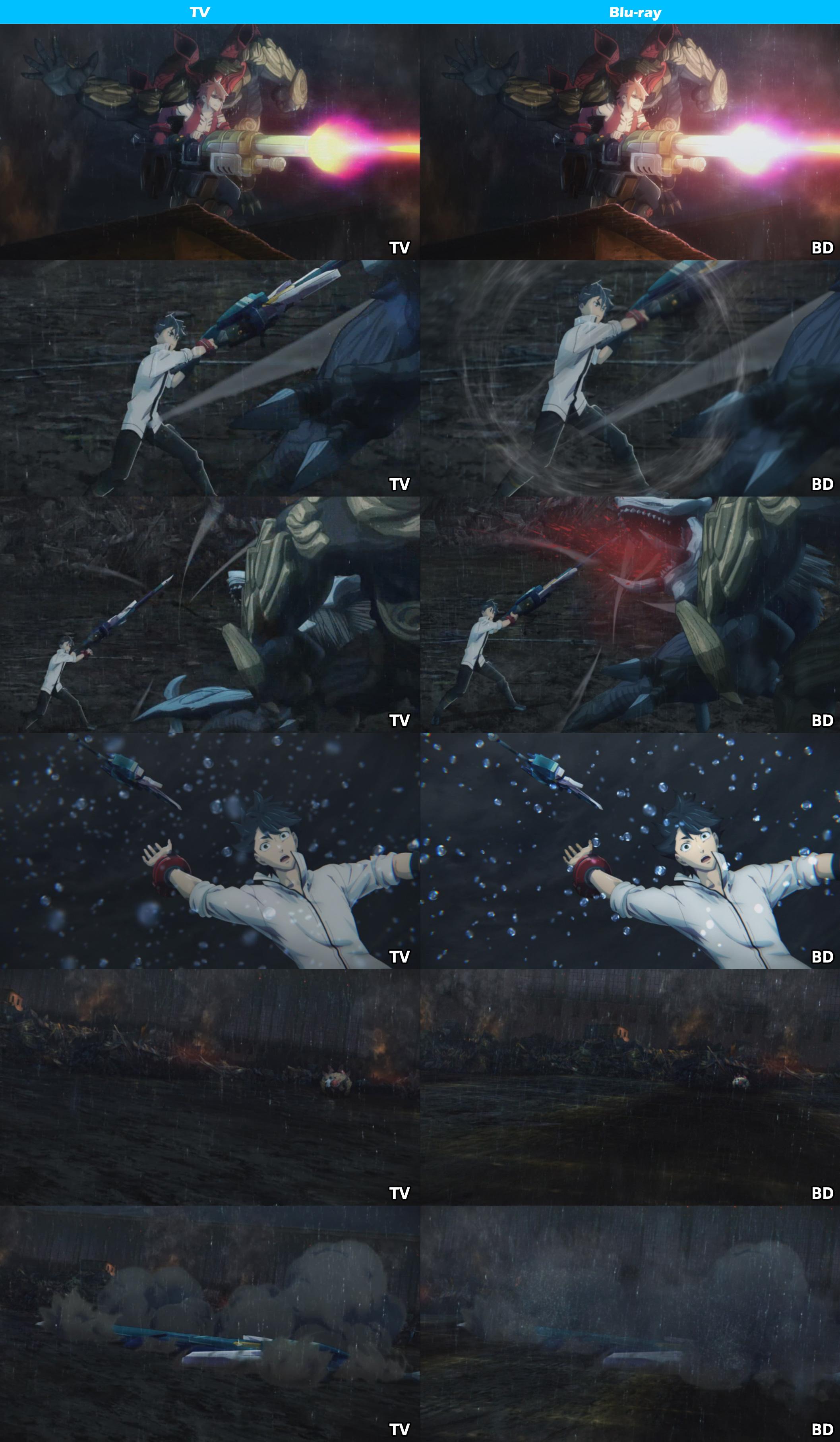 TV vs Blu-ray -God Eater-5