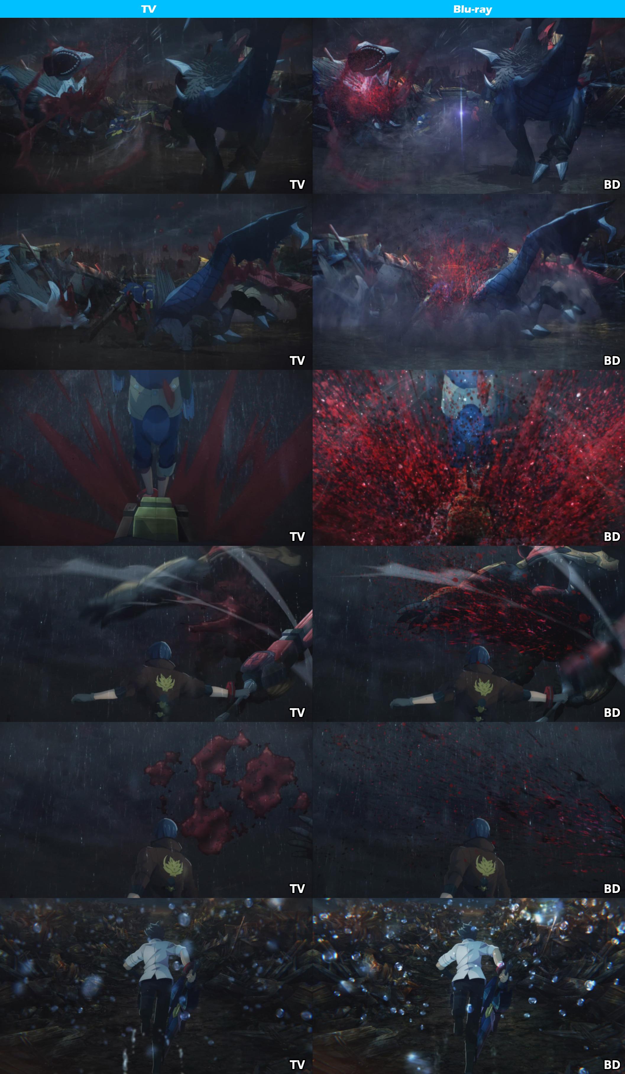 TV vs Blu-ray -God Eater-9