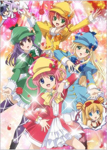 Tantei Kageki Milky Holmes TD anime key visual haruhichan.com Tantei Opera Milky Holmes