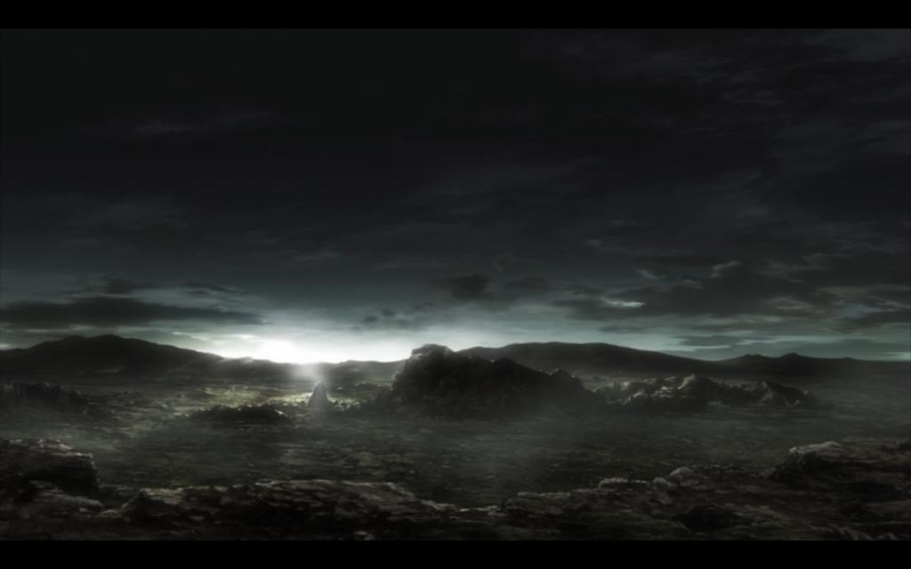 Terra Formars Anime Mars Landscape