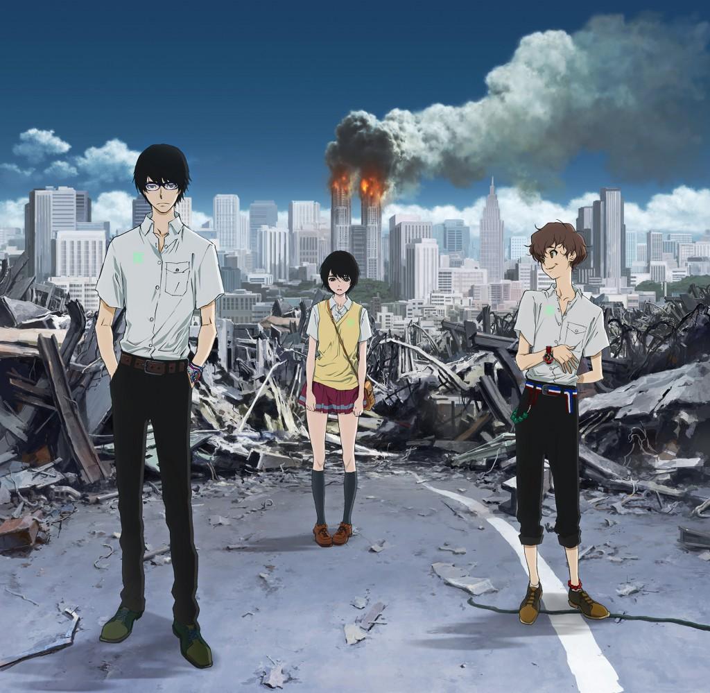 Terror in Tokyo Terror of Resonance Terror in Resonance Zankyou no Terror anime series