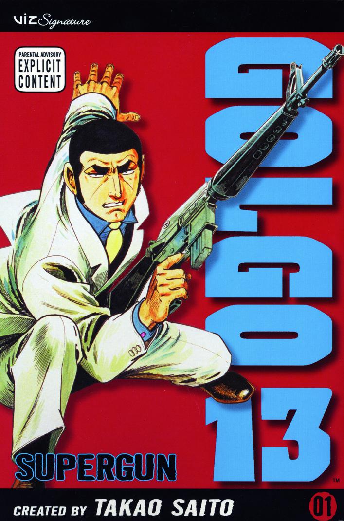 The 25 Most Anticipated Manga Ending Haruhichan.com Golgo 13 manga cover