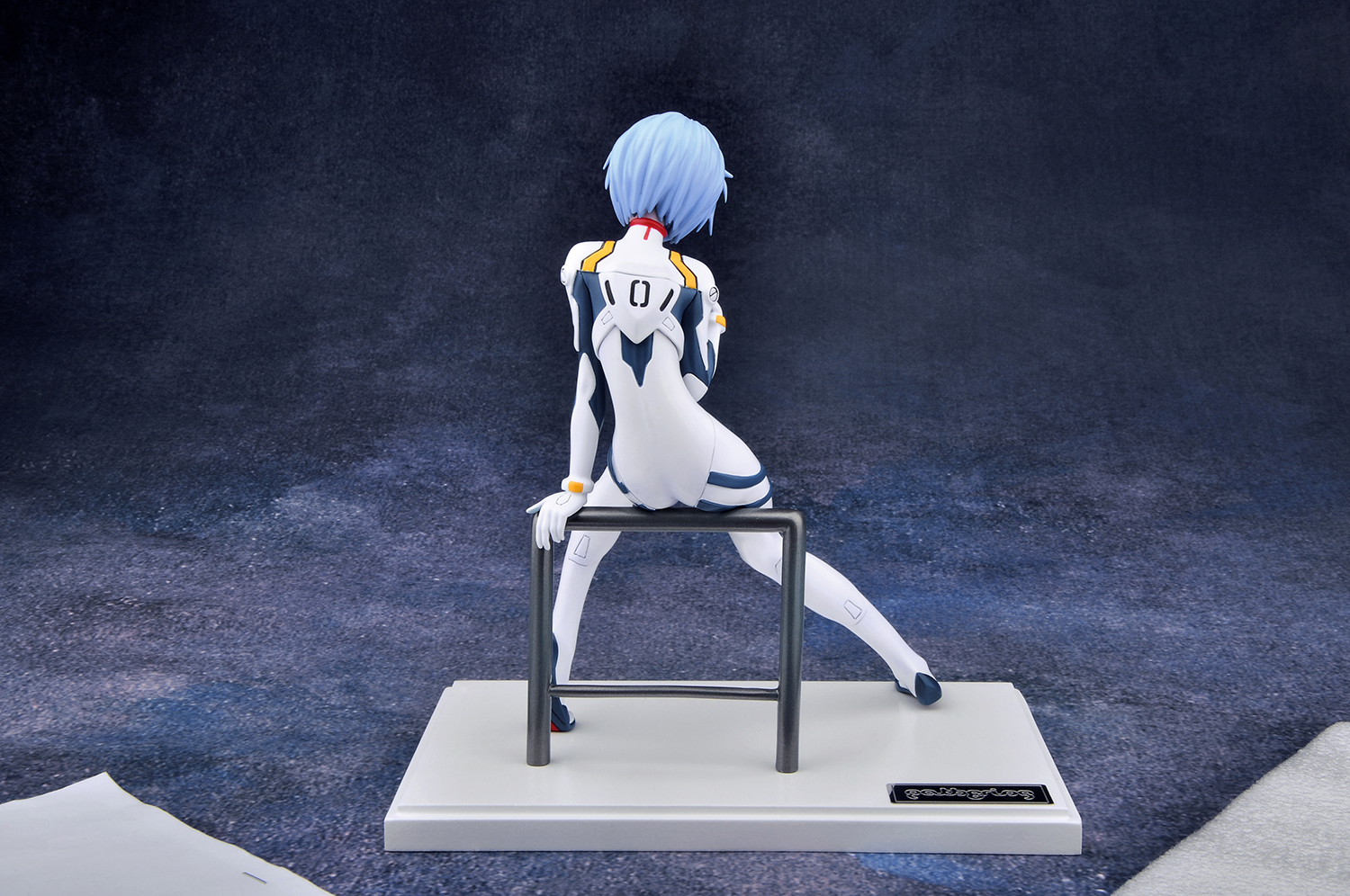 The Blue-Haired EVA Pilot Receives a New Figure haruhichan.com Neon Genesis Evangelion Ayanami Rei anime 09