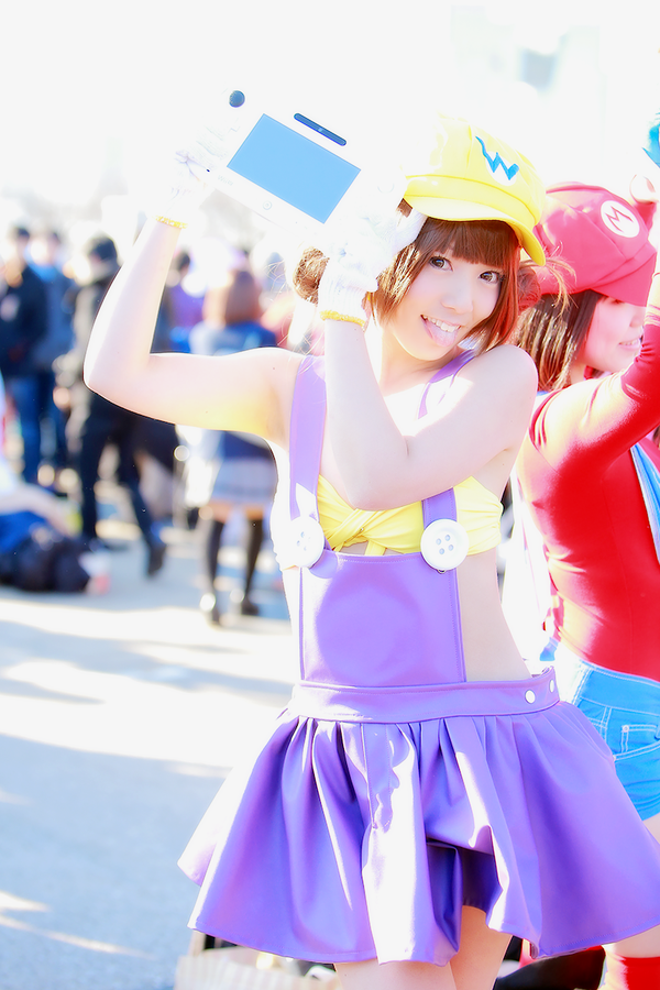 The Cutest Wario Cosplay You'll Ever See Comiket 89 Nintendo 0004