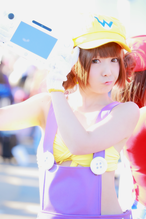 The Cutest Wario Cosplay You'll Ever See Comiket 89 Nintendo 0006