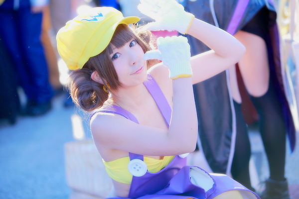 The Cutest Wario Cosplay You'll Ever See Comiket 89 Nintendo 0008