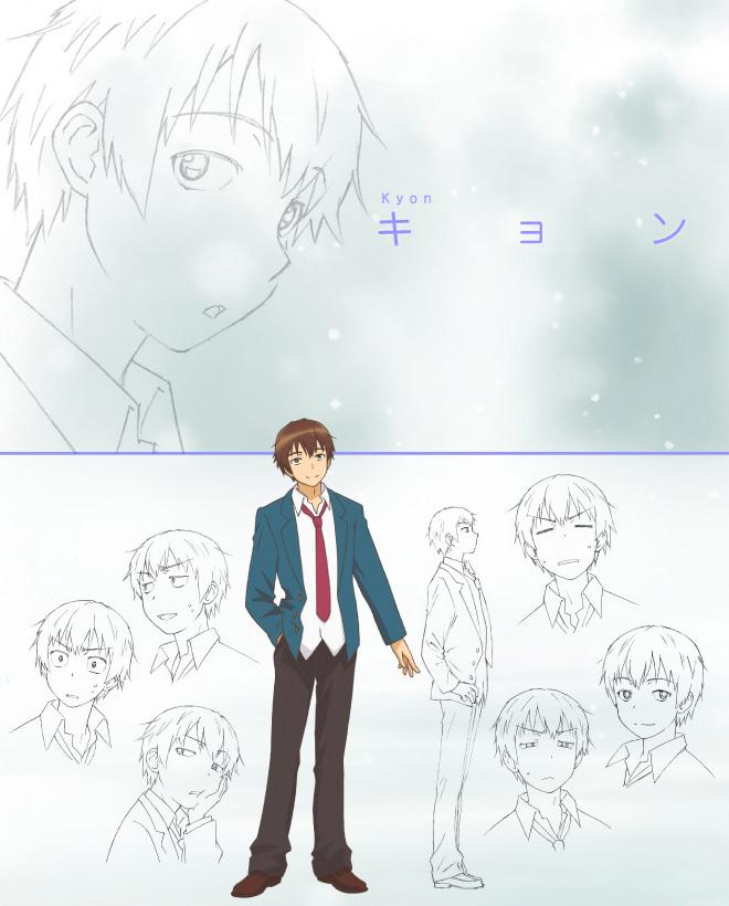The-Disappearance-of-Nagato-Yuki-Chan_Haruhichan.com-Anime-Character-Design-v2-Kyon