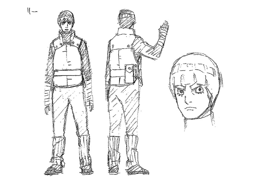 Naruto The Last Character Design Color : New naruto shippuuden movie quot the last visuals